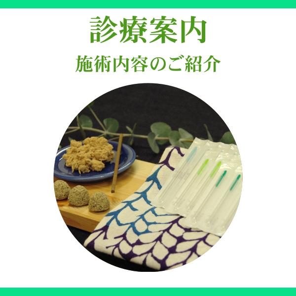 せきぐち鍼灸整体院|武蔵小金井|診療案内